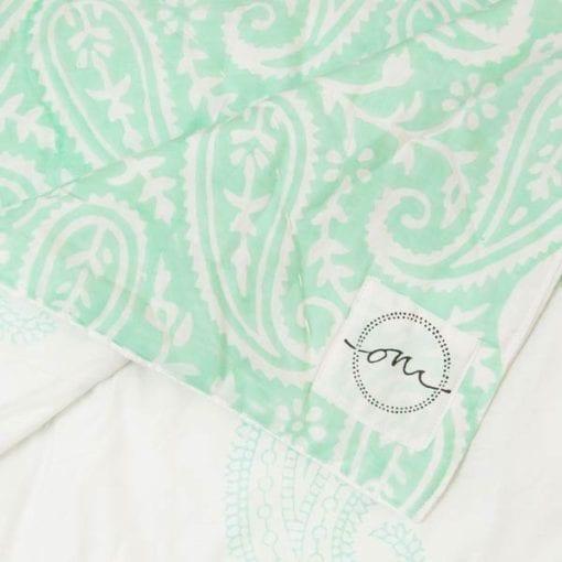 Jaipur-Mint-Quilt-Oni-Fabrics - SS17 - Quilts - oni earth-kind fabrics