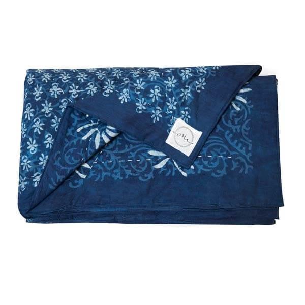 Kolkota-Indigo-Quilt-Social1200-Oni-Fabrics - SS17 - Quilts - oni earth-kind fabrics