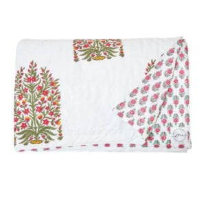Mughal Flower Quilt - SS17 - Quilts - oni earth-kind fabrics