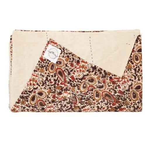 "Mughal Kalamkari Kantha - SS17 - ""Kanthas"" Bedspreads - oni earth-kind fabrics"