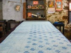 oni earth-kind fabrics login background - bagru India-1003